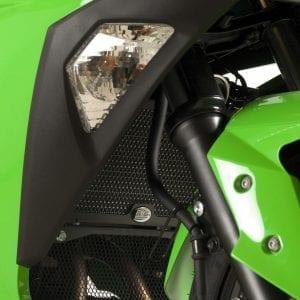 R&G Kawasaki Ninja 300 Radiator Guard-0