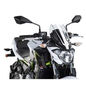 Puig Kawasaki Z650 Wind Screen-0